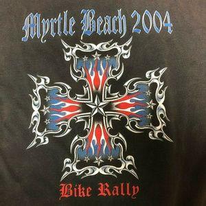 Myrtle Beach Bike Rally Biker T Shirt